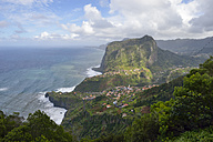 Portugal, Madeira, view of Faial on the north coast - RJF00681