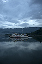 Indonesia, Lombok island, ferry on the sea at dawn - KNT00755