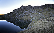 UK, North Wales, Snowdonia, Craig Cwm Silyn - ALRF00841