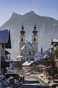 Germany, Bavaria, Aschau in winter - THA01924