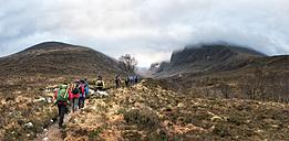 UK, Scotland, trekking at Ben Nevis - ALRF00866