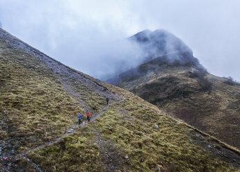 UK, Scotland, Glencoe, trekking at Stob Coire Nan Lochan - ALRF00890