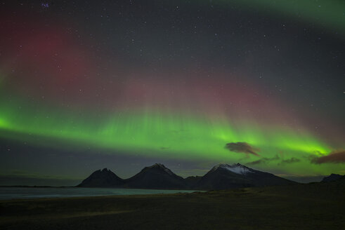 Iceland, scenery with Aurora Borealis - EPF00397