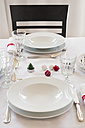 Festive laid table - LVF05948