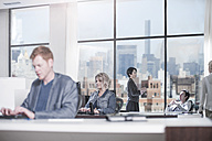 People working in city office - ZEF13186
