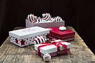 Christmas decoration on wooden table - LVF05954