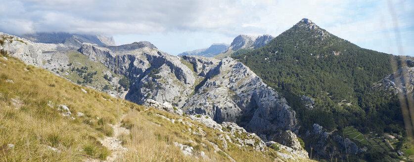 Spain, Majorca, Soller, Serra de Tramuntana, pilgrims' path through torrent - BSCF00562