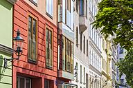 Austria, Vienna, Spittelberg, refurbished Biedermeier houses - WDF03948