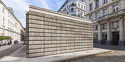 Austria, Vienna, Judenplatz, Holocaust memorial - WD03978