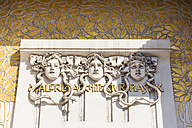 Austria, Vienna, detail of Secession exhibition building - WD03981