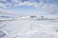 Iceland, snow-covered landscape - EPF00425