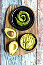 Bowl of guacamole and avocado - SARF03285