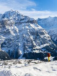 Switzerland, Canton of Bern, Grindelwald, view on Mittelhorn - AM05367