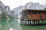 Italy, South Tyrol, Dolomites, Lago di Braies, Fanes-Sennes-Prags Nature Park - GWF05181