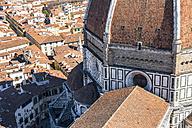 Italy, Tuscany, Florence, partial view of Basilica di Santa Maria del Fiore - LOMF00538