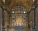 Italy, Florence, indoor view of Florence Baptistery - LOM00544