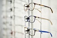 Glasses frames on a rack - JASF01678