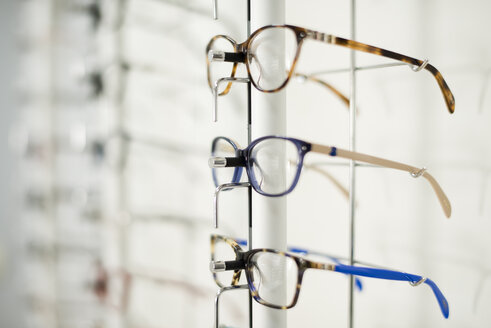 Glasses frames on a rack - JASF01678