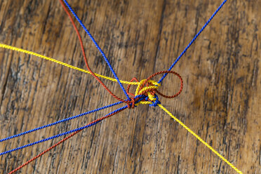 Different strings knotted - TCF05372