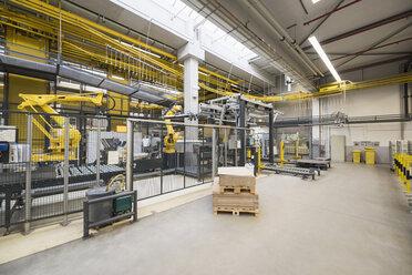 Factory shop floor, industrial robot - DIGF01796