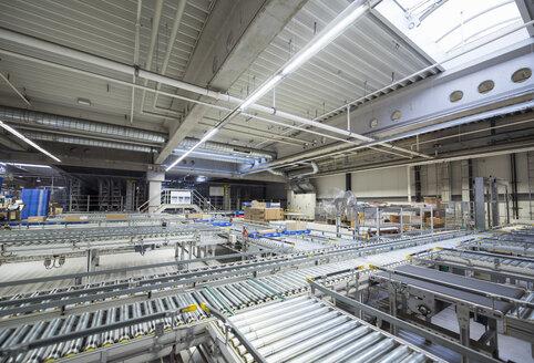 Conveyor belt in factory shop floor - DIGF01817