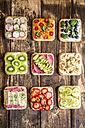 Various garnished sandwiches - SARF03301