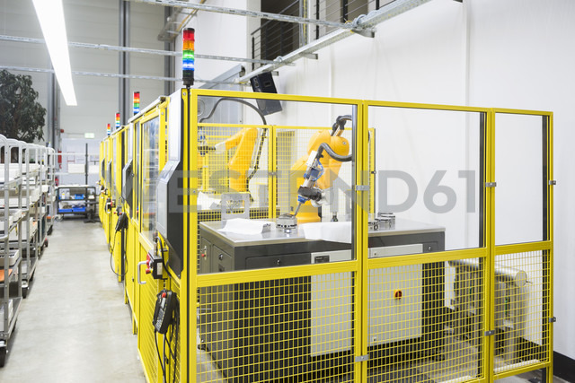 Industrial robots on factory shop floor - DIGF02061