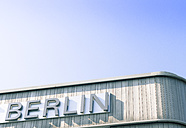 Germany, part of facade with writing 'Berlin' - CMF00680
