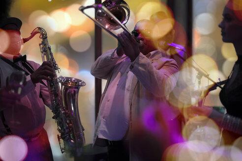 Jazz band playing - ZEF13569
