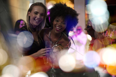 Two women having fun on a party - ZEF13581