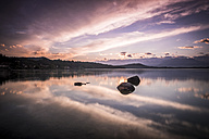 Italy, Lago Viverone at sunset - SIPF01631