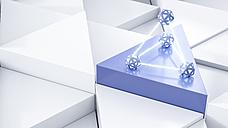 Energy pyramid, 3d rendering - AHUF00344