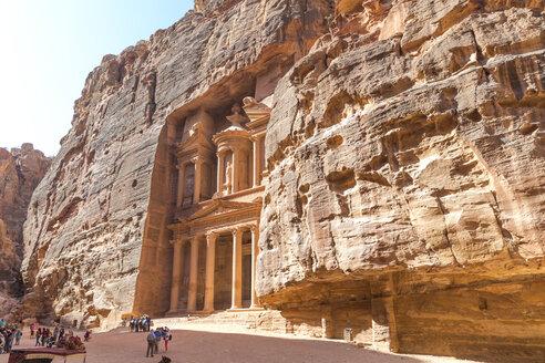 Jordan, Petra, view to Al Khazneh - MABF00453