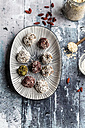 Various Bliss Balls on platter - SARF03330