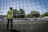 Boy as soccer goalkeeper - SKCF00292