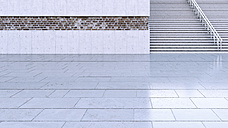 Staircase, 3D Rendering - UWF01184
