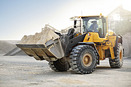 Digger working at quarry - ZEF13717
