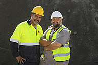 Portrait of two quarry workers - ZEF13741