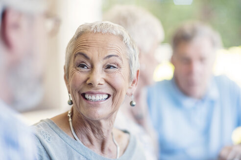 Portrait of smiling senior woman - ZEF13816
