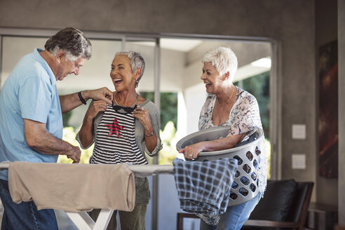 Seniors having fun together - ZEF13828
