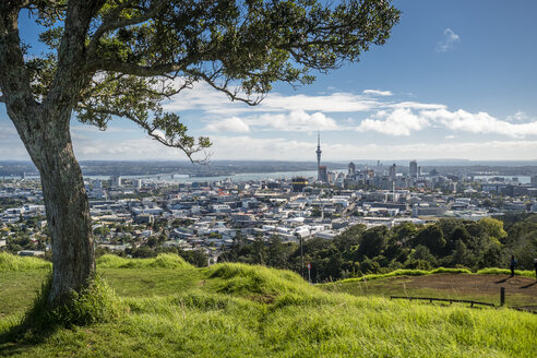 New Zealand, North Island, Mount Eden, Auckland, cityscape - STSF01210