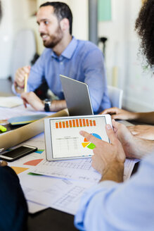 Business people analyzing data in office - GIOF02620