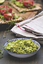 Bowl of avocado dip - ODF01516