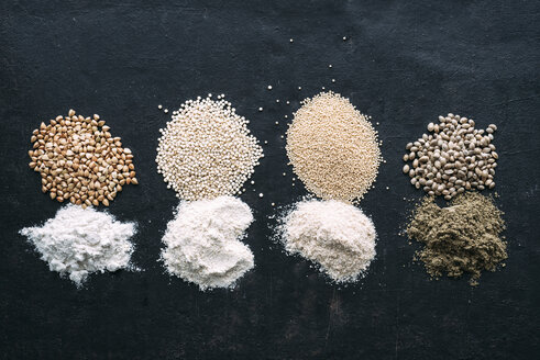 Pseudocereals and flour, Buckwheat, Quinoa, Amaranth, Hemp - IPF00385
