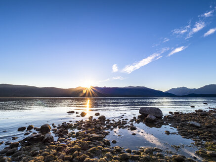 New Zealand, South Island, Southern Scenic Route, Fiordland National Park, Lake Te Anau - STSF01236
