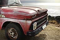 Old pick up at the coast - ZEF13881