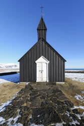Iceland, Budir black church - RAEF01880