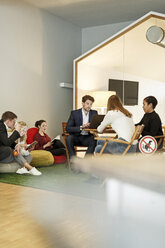Creative informal meeting in office - PESF00627