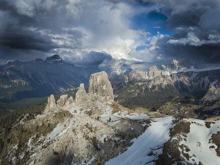 Italy, Alto Adige, Dolomites, Cinque Torri - STCF00317