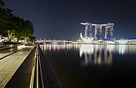 Singapore, Marina Bay Sands Hotel - STCF00326